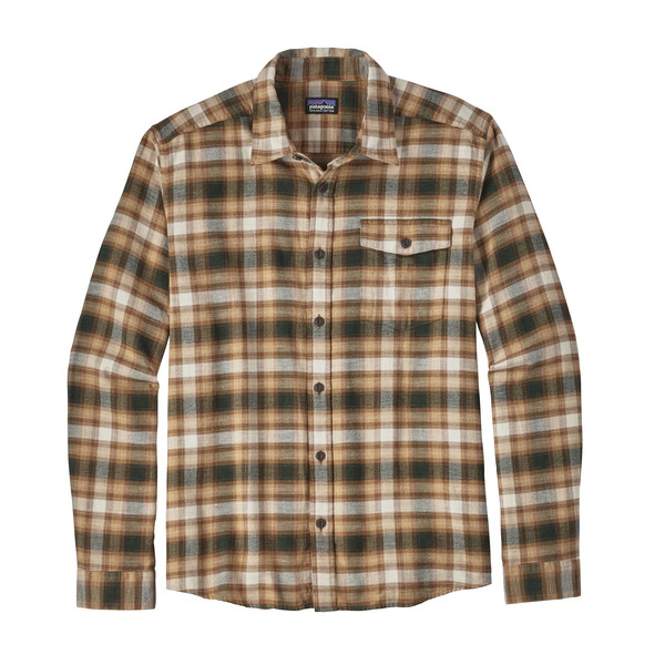 Patagonia M' S L/S LIGHTWEIGHT FJORD FLANNEL SHIRT Miehet