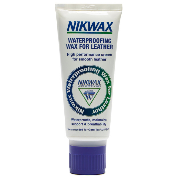 Nikwax WATERPROOFING WAX FOR LEATHER 100ML TUBE