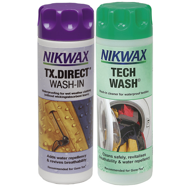 Nikwax TWIN PACK TECH WASH +TX.DIRECT 300ML