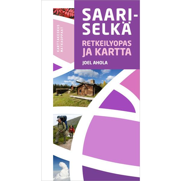 Kirja SAARISELKÄ RETKEILYOPAS JA KARTTA