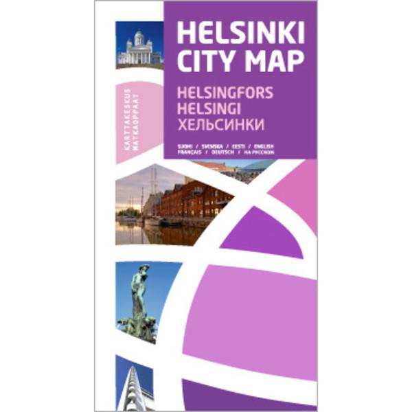 Kirja HELSINKI CITY MAP