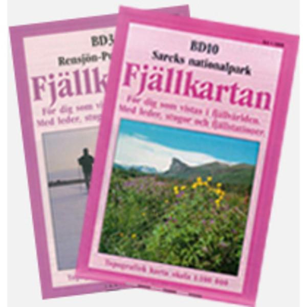 Kirja BD14 KVIKKJOKK-JÄKKVIK
