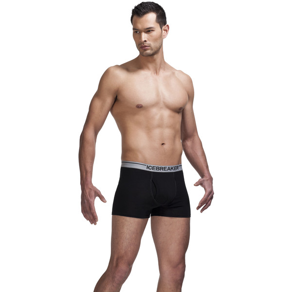 Icebreaker M BOXER BRIEF W/FLY Miehet