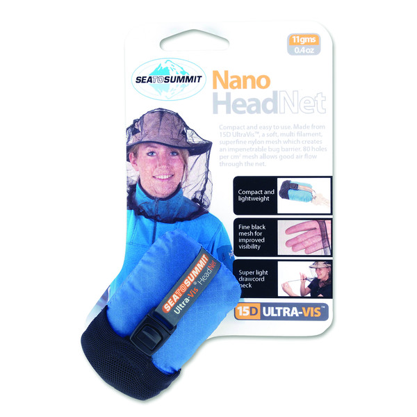 Sea to Summit NANO MOSQUITO HEADNETS PERMETHRIN