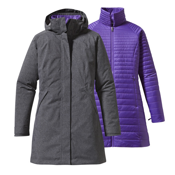 Patagonia W' S VOSQUE 3-IN-1 PARKA Naiset