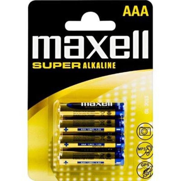 Maxell LR-03 AAA SUPER ALKALINE 4PCS BLISTER