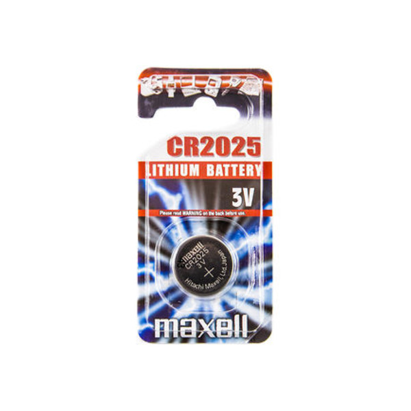 Maxell CR 2025 1PCS BLISTER