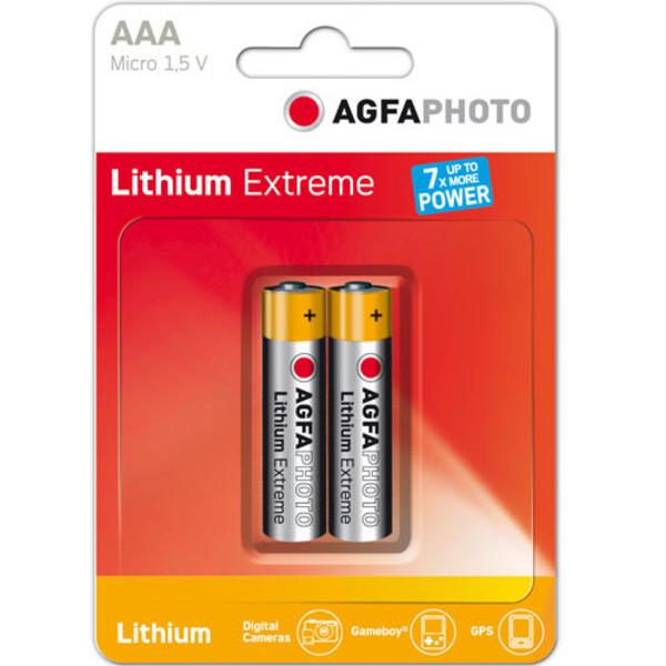 Agfa Lithium AAA EXTREME LITHIUM 2PCS BLISTER