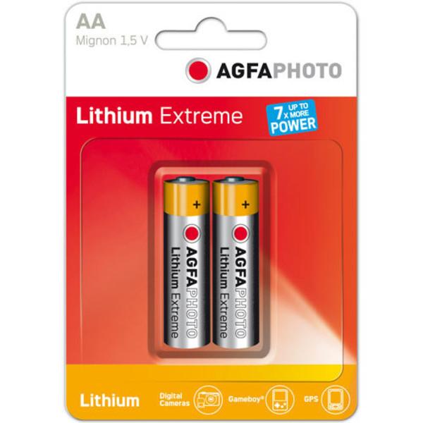 Agfa Lithium AA EXTREME LITHIUM 2PCS BLISTER