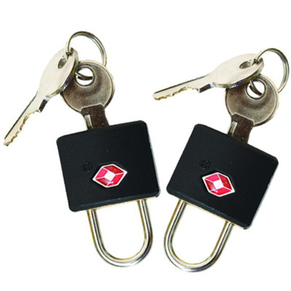 Trekmates KEY PADLOCK TSA - TWIN PACK