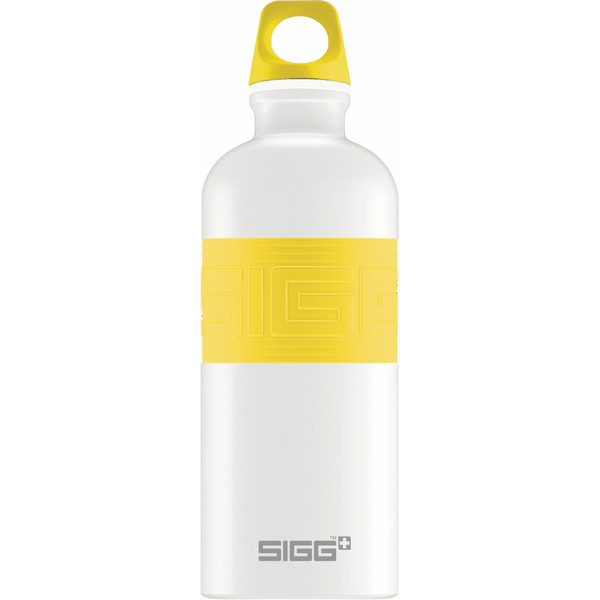 Sigg CYD PURE WHITE TOUCH YELLOW 0,6L