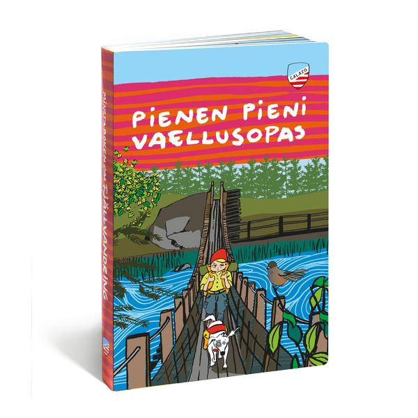 Calazo PIENEN PIENI VAELLUSOPAS -KURKISTUSKIRJA Lapset