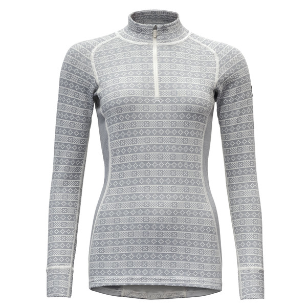 Devold ALNES WOMAN HALF ZIP NECK Naiset