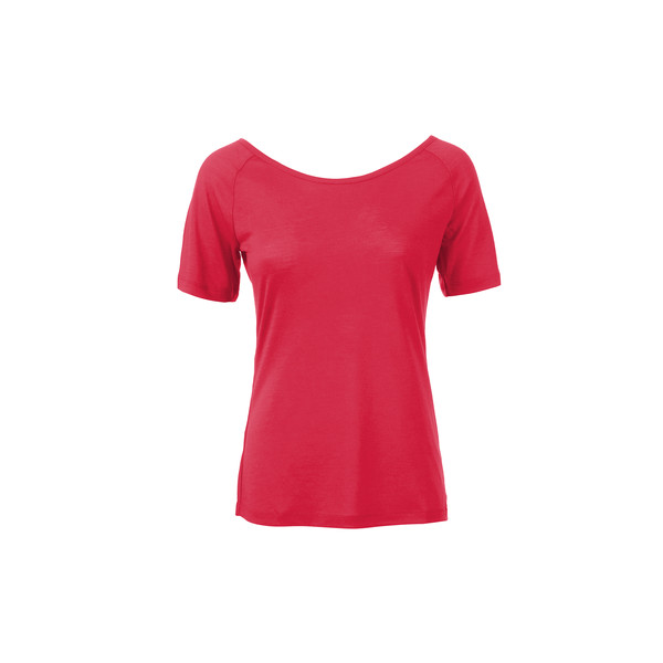 super.natural Europe AG W ESSENTIAL SCOOP NECK TEE Naiset