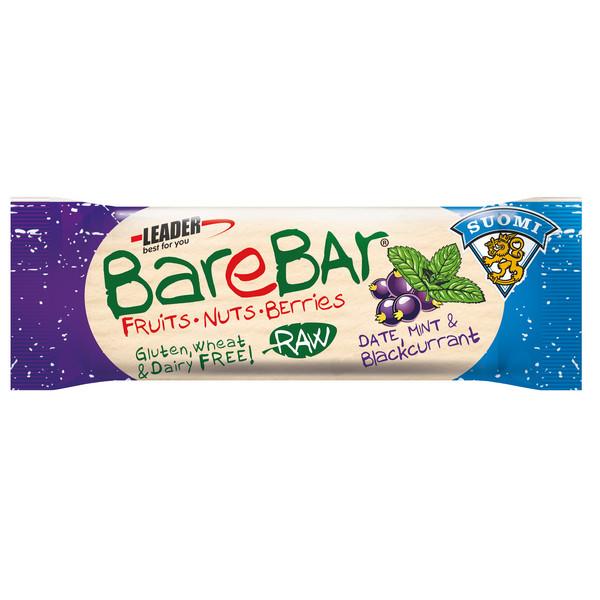 BareBar MINT& BLACKCURRANT 40G