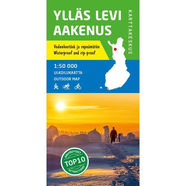 Karttakeskus Yllas Levi Aakenus Partioaitta