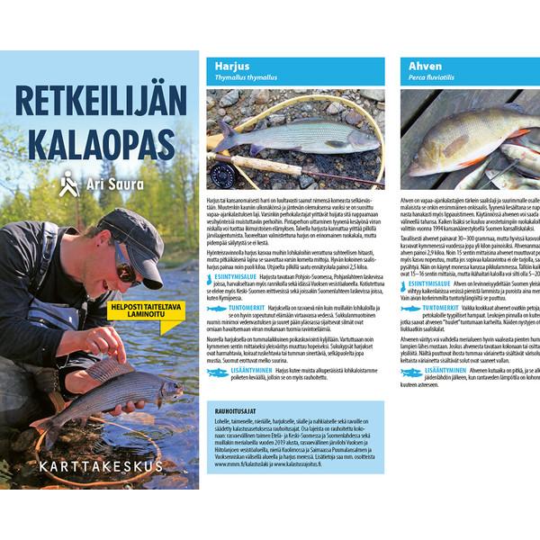 Karttakeskus RETKEILIJÄN KALAOPAS