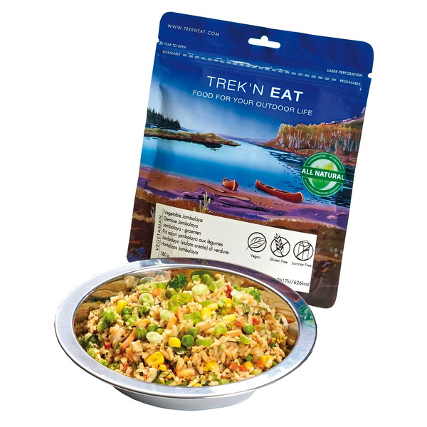 Trek' n Eat VEGETABLE JAMBALAYA