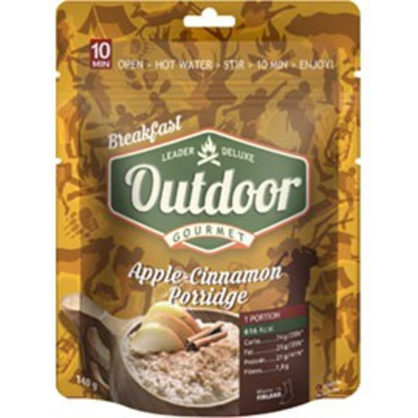 Outdoor Gourmet APPLE-CINNAMON PORRIDGE