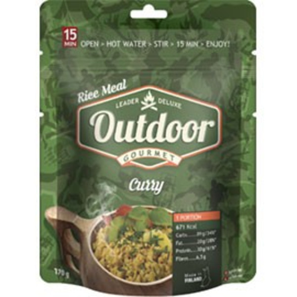 Outdoor Gourmet OUTDOOR CURRY