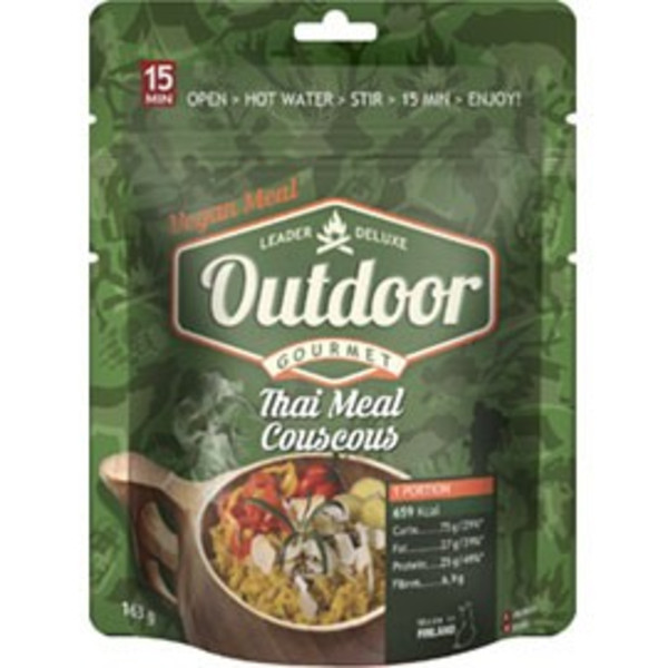 Outdoor Gourmet THAI MEAL COUSCOUS