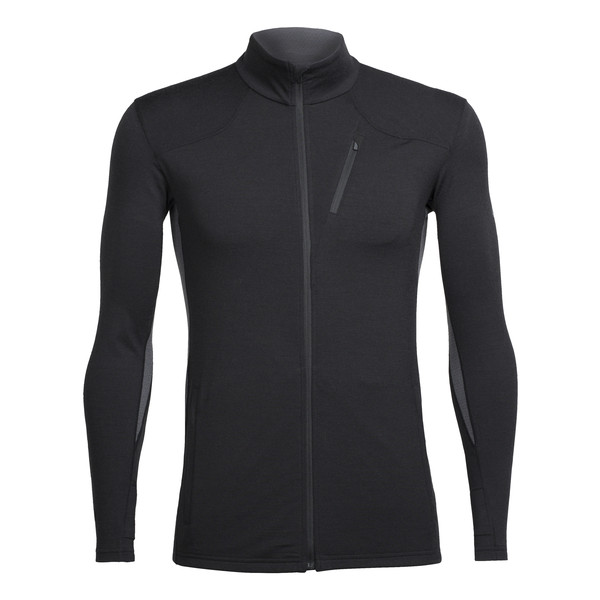 Icebreaker MENS FLUID ZONE LS ZIP Miehet