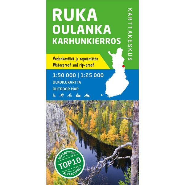 Karttakeskus RUKA OULANKA KARHUNKIERROS