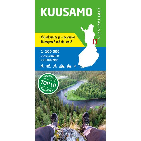 Karttakeskus KUUSAMO 1:100 000