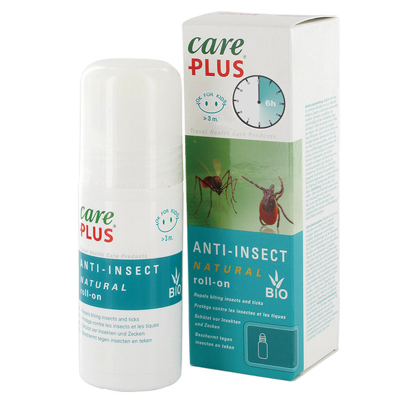 Care Plus ANTI-INSECT NATURAL ROLL-ON CITRIODIOL, 50 ML