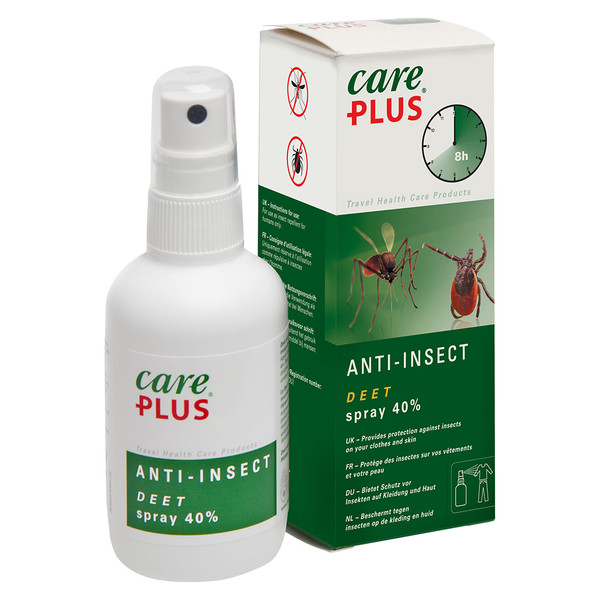 Care Plus ANTI-INSECT - DEET SPRAY 40% 100ML