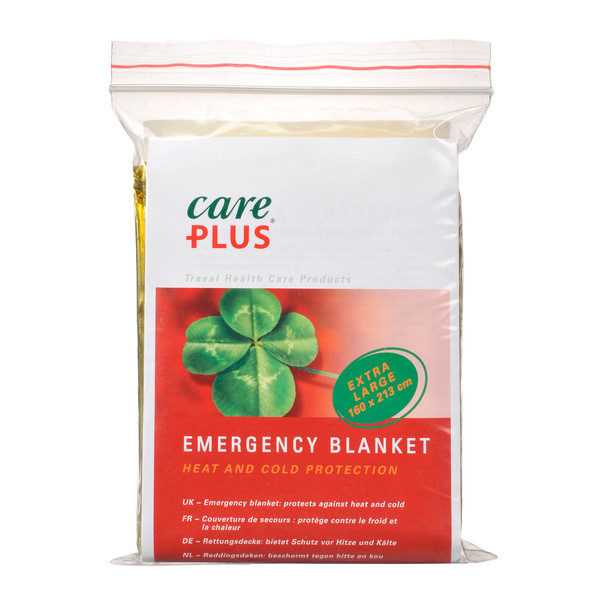Care Plus EMERGENCY BLANKET 160X213CM