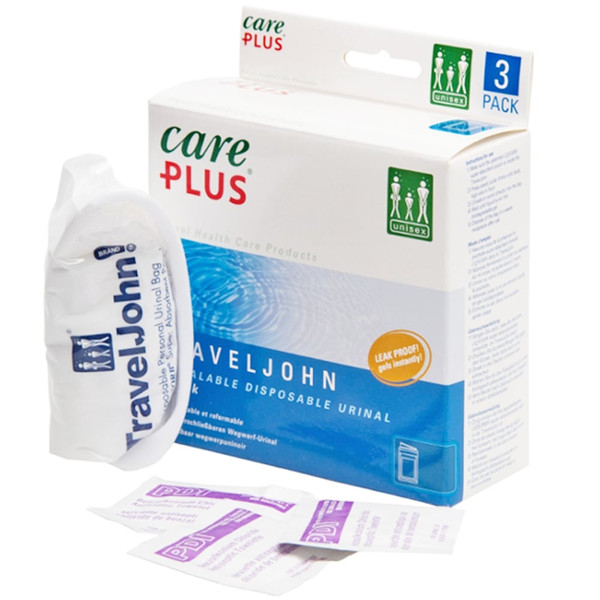 Care Plus TRAVEL JOHN - DISPOSABLE URINAL