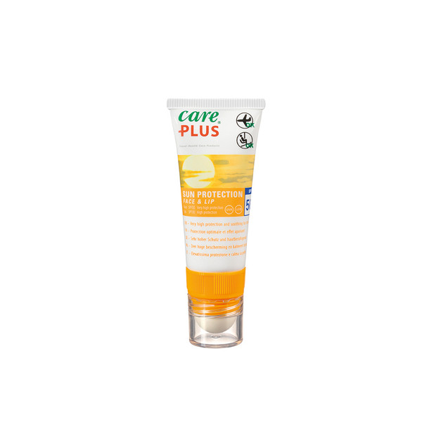 Care Plus SUN PROTECTION FACE& LIP SPF 50, 20 ML