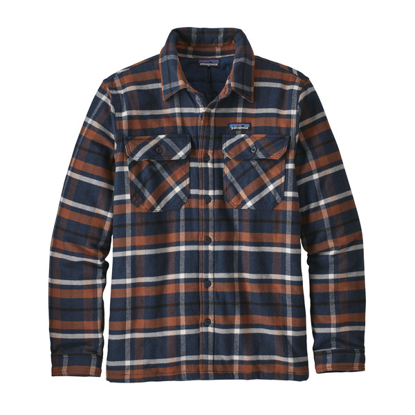 Patagonia M' S INSULATED FJORD FLANNEL JACKET Miehet