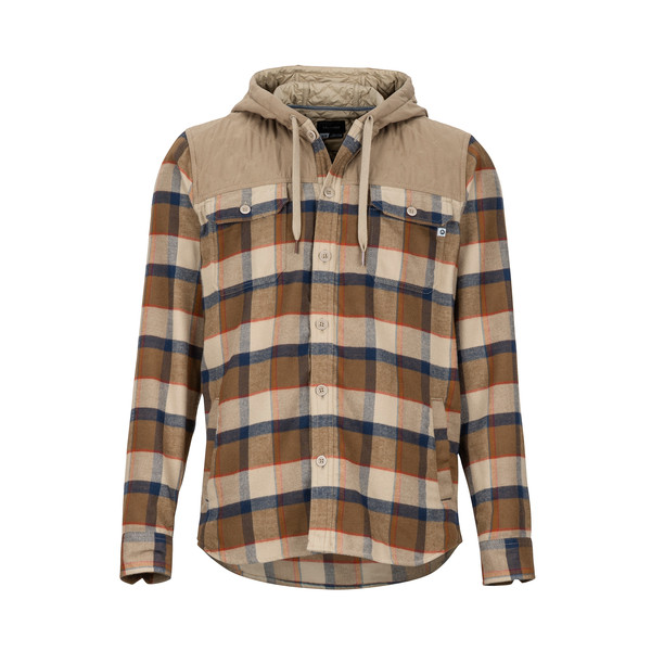 Marmot SILOS HEAVYWEIGHT FLANNEL LS Miehet