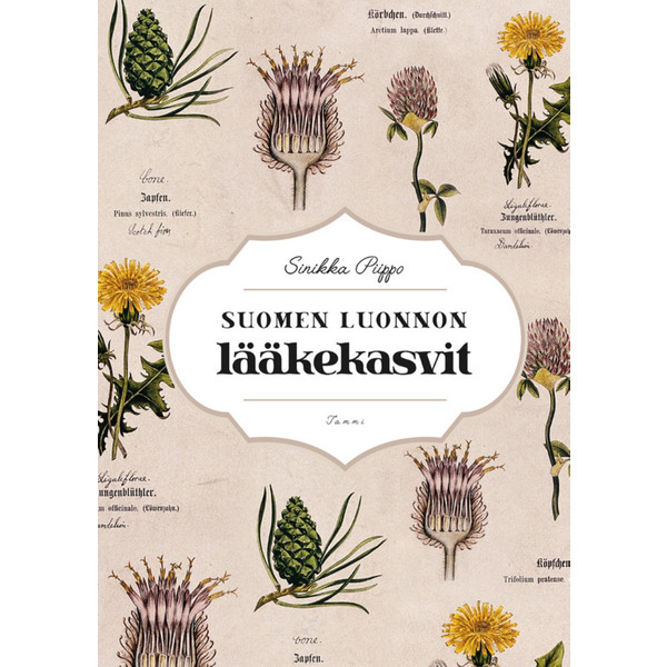 Kirja SUOMEN LUONNON LÄÄKEKASVIT