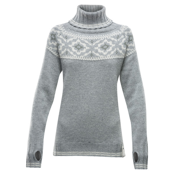 Devold ONA WOMAN ROUND SWEATER Naiset