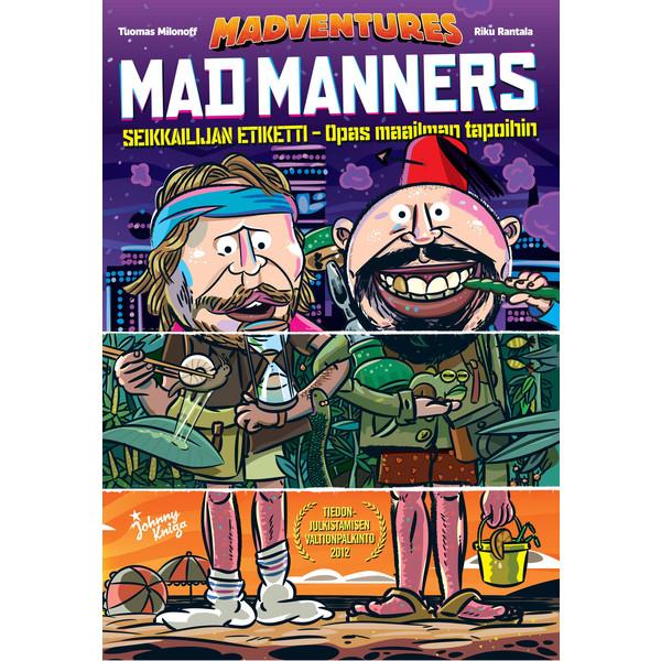 Kirja MAD MANNERS - POKKARI