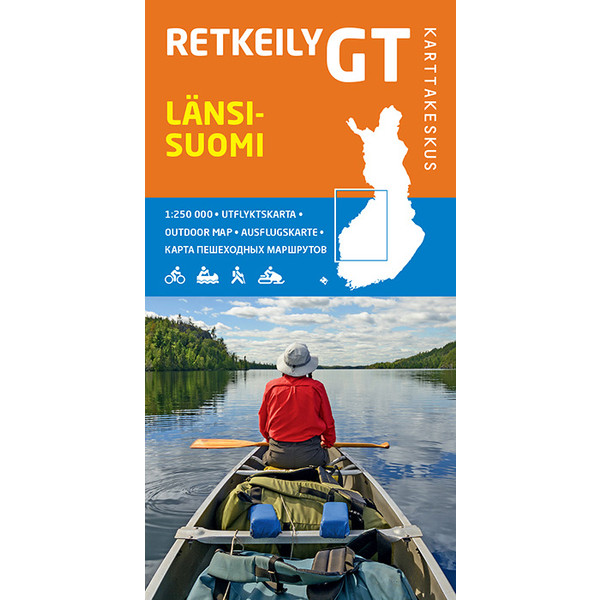 Karttakeskus RETKEILY GT LÄNSI-SUOMI