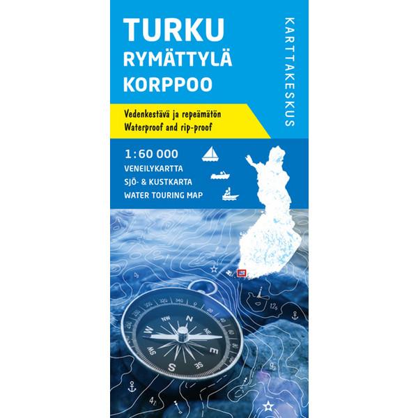 Karttakeskus TURKU RYMÄTTYLÄ KORPPOO VENEILYKARTTA