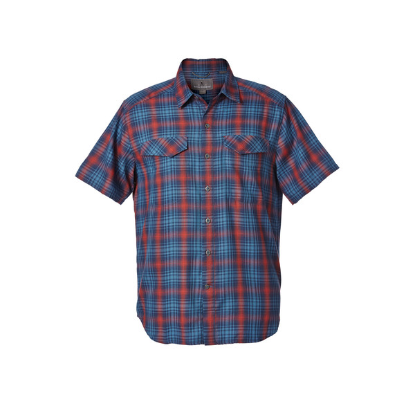 Royal Robbins MERINOLUX PLAID S/S Miehet