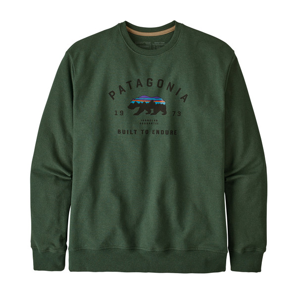 Patagonia M' S ARCHED FITZ ROY BEAR UPRISAL CREW SWEATSHIRT Miehet