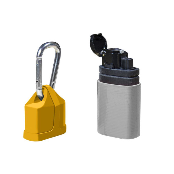 UCO STORMPROOF LIGHTER WITH UTILITY TAPE