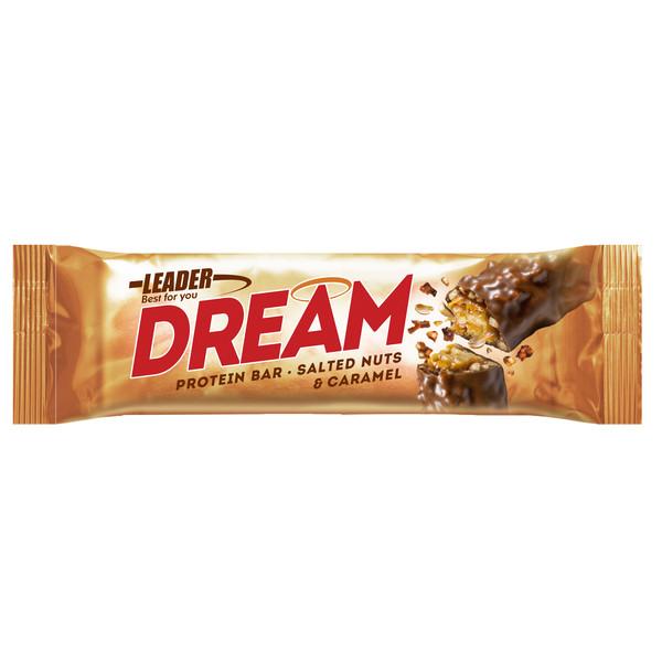 Leader DREAM SALTED NUTS &  CARAMEL 45G
