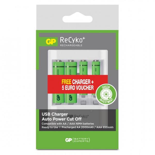 GP Batteries GP RECYKO PROMO LATURI+AKUT U411210/65EFRGIVH-2GBW4