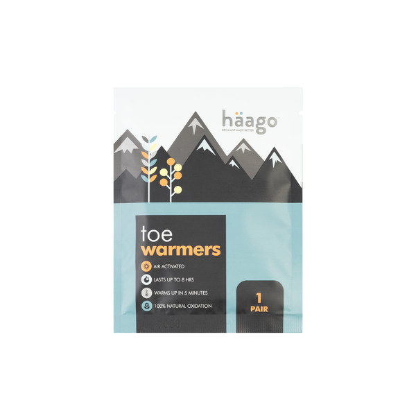 Haago TOE WARMERS (2 KPL)