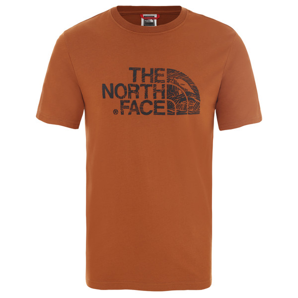 The North Face MEN'S S/S WOODCUT DOME TEE Miehet