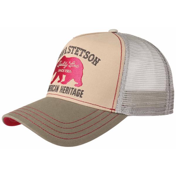 Stetson TRUCKER CAP BEAR Miehet