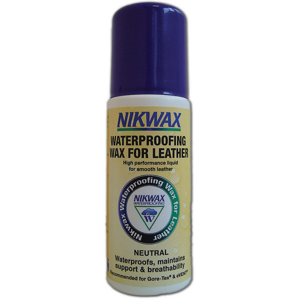 Nikwax WATERPROOFING WAX FOR LEATHER 125ML SPONGE