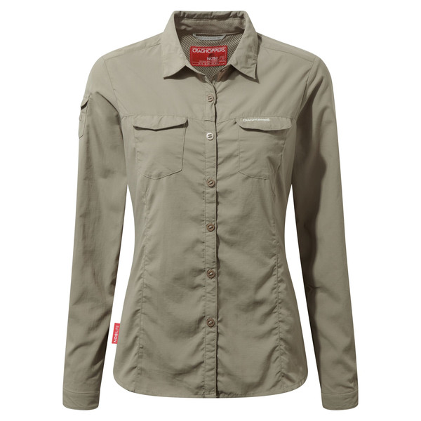 Craghoppers NOSILIFE ADVENTURE II LONG SLEEVED SHIRT Naiset